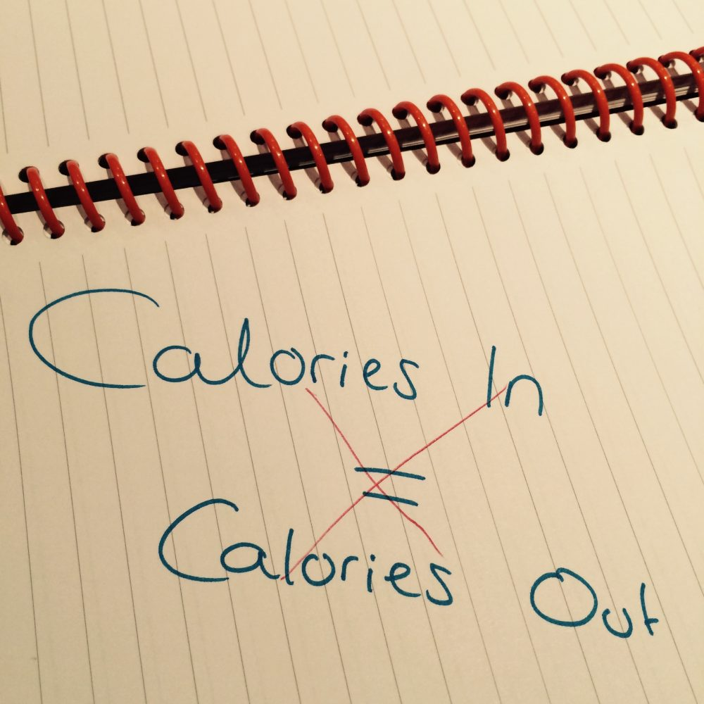 Not all calories are equal